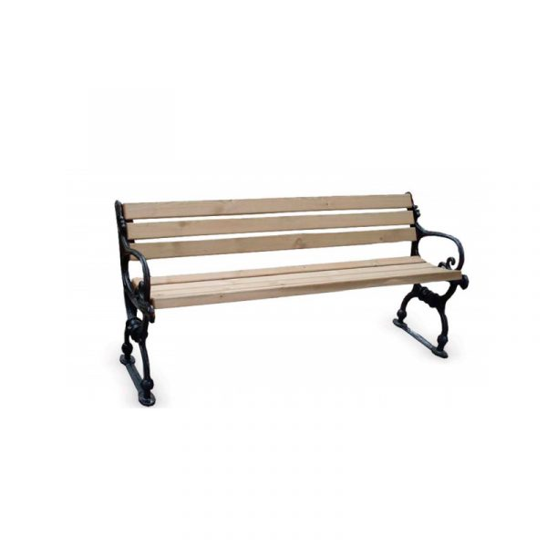BCV-014-Cast-Footed-Bench