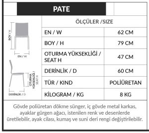 pate-wooden-metal-fabric-chair-technical-detail